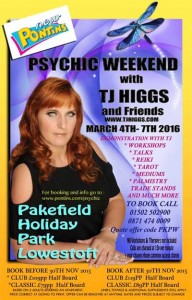 Psychic Weekend with TJ Higgs and Friends